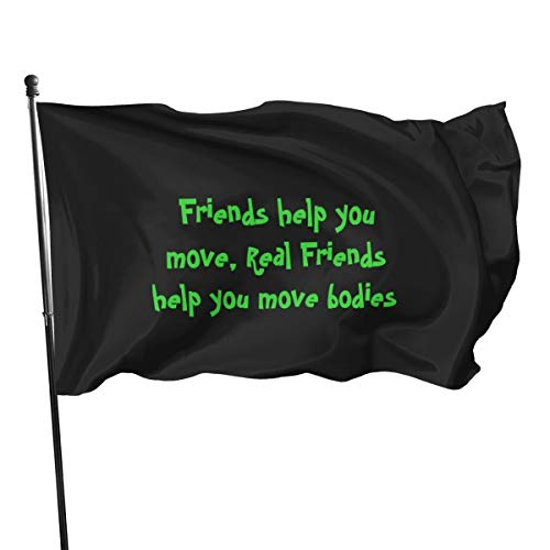 Generic Brands Friends Flaggen-Banner, 3 x 5 cm