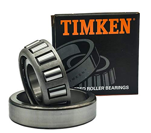 TIMKEN 30208 M 1Pcs Tapered Roller Bearing Assembly - 40 mm Bore, 80 mm OD, 18 mm Cone Width, Wheel Bearing