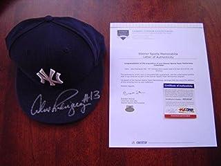 158f8961908 New York Yankees Alex Rodriguez Game Used Signed 660 Hr Hat Willie Mays - Steiner  Sports