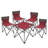 ABOOFAN Sillas de mesa plegables portátil patio jardín patio bistro al aire libre camping silla mesa conjunto muebles