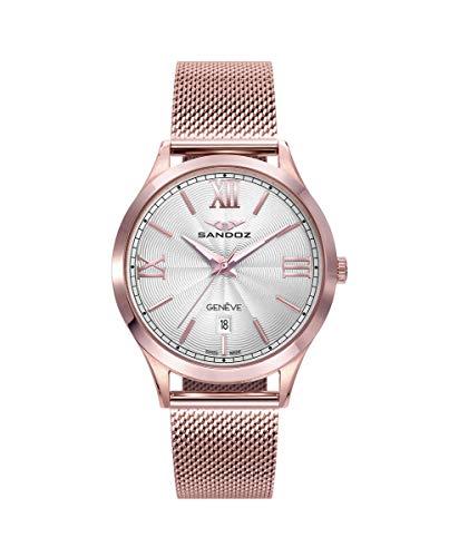 Sandoz - Reloj Acero Brazalete IP Rosa Sra Elle Sa - 81366-03