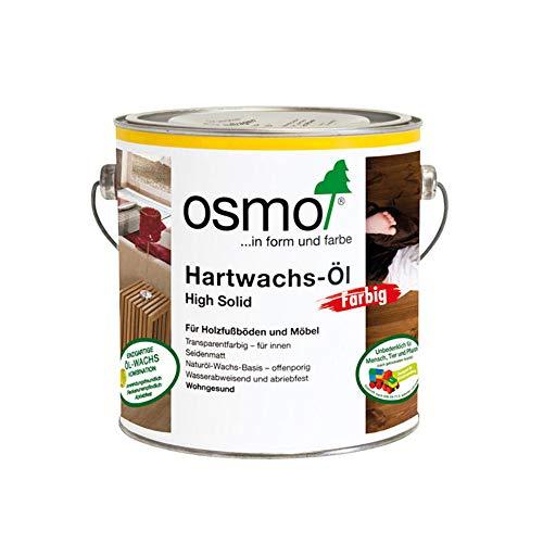 Osmo 3040 Hartwachs-Öl High Solid Weiß, 2,5 Liter