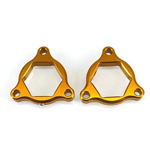 LIWENCUI- 19mm Motorrad Zubehör Federgabeln Gabelversteller for Honda CRF 1000L CRF1000L Africa Twin ABS/DCT (Color : Gold)