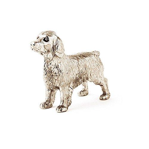 Welsh Springer Spaniel Made in UK, Collezione Statuetta Artistici Stile Cani