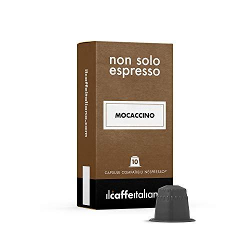FRHOME - 50 Cápsulas compatibles Nespresso - Mocaccino - Il Caffè italiano