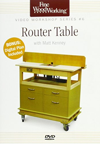 Fine Woodworking Video Workshop Series - Router Table
