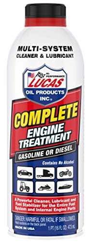 Lucas Oil 10016 Complete Engine Treatment,16 fl. oz