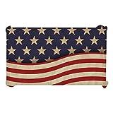 Cabilock Bandiera Americana Tovaglia Quarto di Luglio Tovaglia USA Flag Independence Day da Tavolo Copre per Tavolo da Pranzo Decorazioni
