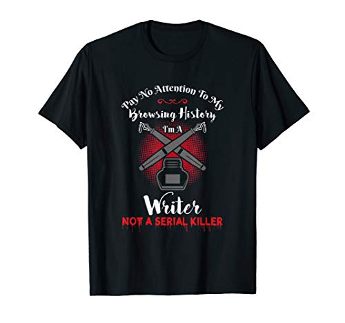 Author and Writer Funny Writing Design Gift T-Shirt