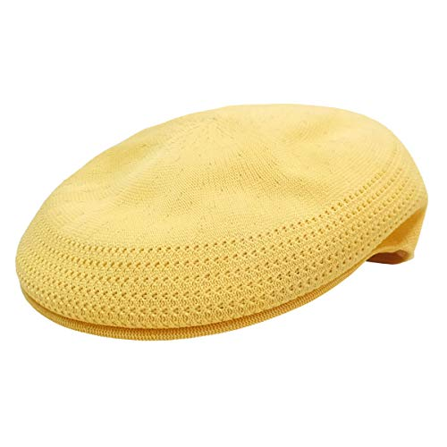 [カンゴール] ハンチング ベレー帽 トロピック 504 ベントエアー イエロー M 105169001