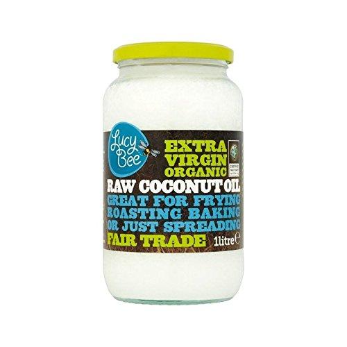 Lucy Ape Extra Vergine Crudo Biologico Olio Di Cocco 1L - Confezione da 6