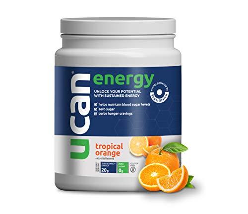 UCAN Energy Powder with SuperStarch (Orange) - 30 Servings