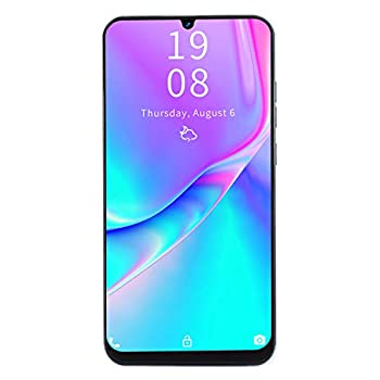 Vbestlife P40 Pro+ 3G Smartphone 7.2inch HD Water Drop Screen Face ID/Fingerprint Unlocked Cell Phones with 1GB+16GB Quad-Core CPU Dual Card Dual Standby 2MP+5MP Dual Camera