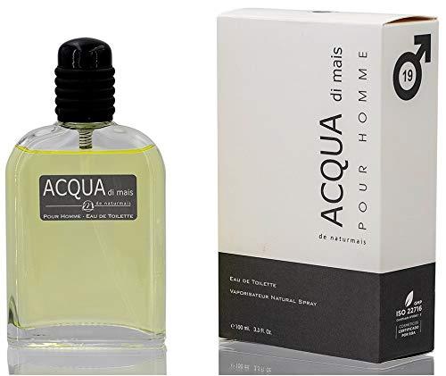 Acqua di Mais Eau De Parfum Intense 100 ml. Compatibile con Acqua Di Giò, Profumo Equivalente Uomo