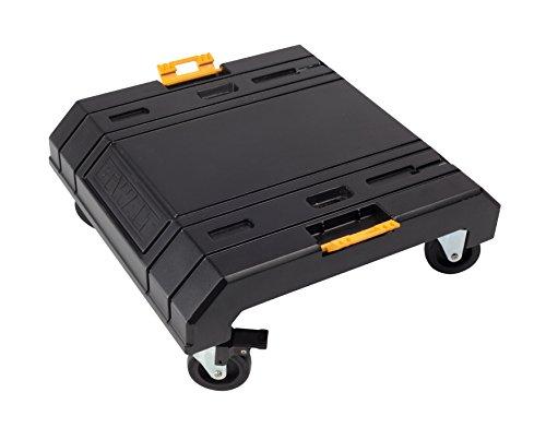 Dewalt Tstak Cart Rollbrett (zum Transport von Tstak-Boxen, Belastbarkeit 100 kg, Abmessung 486 x 486 x 181 mm) DWST1-71229