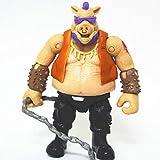 CHOCHO ddTortugas Ninja Mutantes Adolescentes 2 Cara de Cerdo Monstruo Figura Modelo Cabeza de Toro Cara de Cerdo Juguete decoración muñeca-B