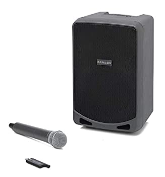 Samson Expedition XP106w - Rechargeable Portable PA with Handheld Wireless System and Bluetooth Black