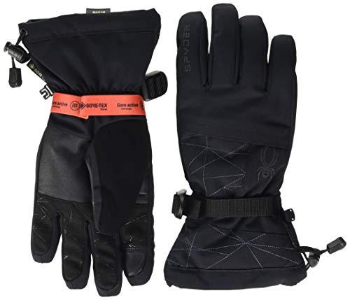 Spyder Herren Overweb GTX Handschuhe, Black, L