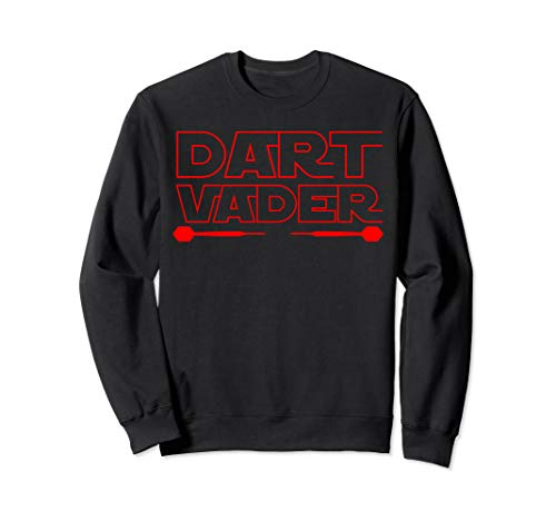 Dart Vader | 180 Darts Dart Dartspieler Geschenk | Darts Sweatshirt