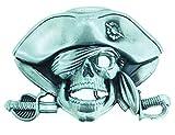 Gemelolandia Hebilla de Cinturón Calavera Pirata   Complementos de Moda Unisex Para Hombres y Mujeres Exclusivos y Atemporales   Accesorios Para Regalos Originales