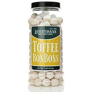 original toffee bonbons retro sweets gift jar by berrymans sweet shop (bon bons) - classic sweets, traditional taste. Original Toffee BonBons Retro Sweets Gift Jar by Berrymans Sweet Shop (Bon Bons) – Classic Sweets, Traditional Taste. 413YNcnCLRL