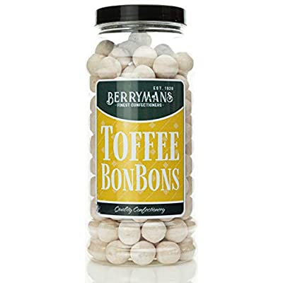 original toffee bonbons retro sweets gift jar by berrymans sweet shop (bon bons) - classic sweets, traditional taste. Original Toffee BonBons Retro Sweets Gift Jar by Berrymans Sweet Shop (Bon Bons) – Classic Sweets, Traditional Taste. 413YNcnCLRL