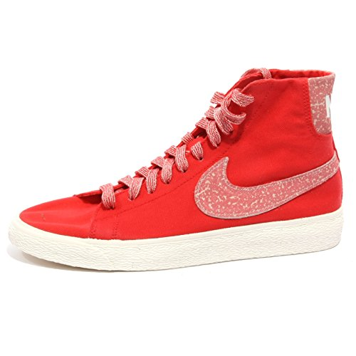 B1371 sneaker donna NIKE BLAZER tessuto rosso shoe woman [38]