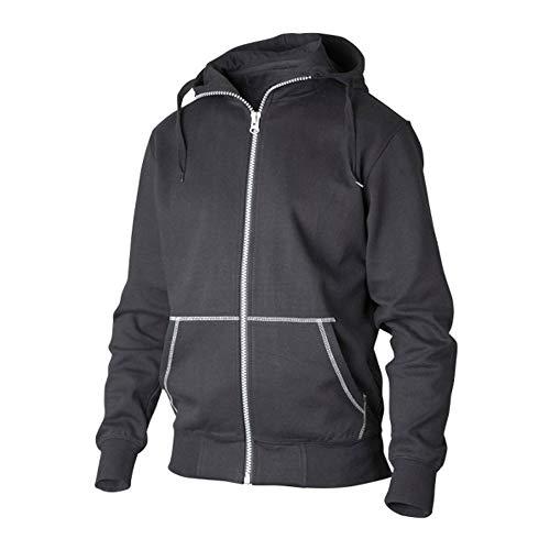 Top Swede 0302-05-07 Modelo 0302 - Sudadera con capucha, color negro, talla XL