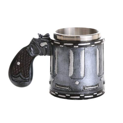 Pacific Giftware Novelty Revolver Gun Coffee Mugs Gun Mugs Pistol Cup 11oz