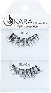 Kara Beauty 100% Human Hair False Eyelashes Demi Wispies- DW (PACK OF 12)