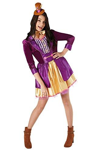 Rubies Mens Womens Willy Wonka Costume Womens Willy Wonka Costume - Large