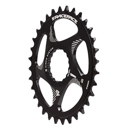 Race Face Direct Mount Oval-32t-Noir Tablett, Unisex, Schwarz, 32