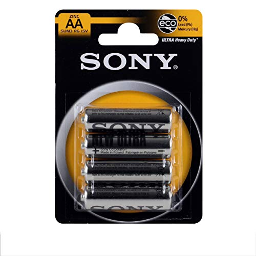 Sony Ultra SUM 3NUB - Batterie 4 x AA Kohlenstoff Zink, SUM3NUB4A