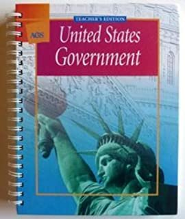 AGS United States Government Teacher's Edition