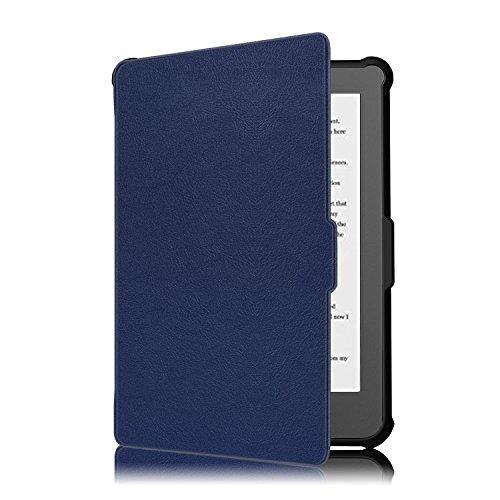Kobo Clara HD Cover - Folio Custodia Ultra Sottile e Leggero con Coperture Funzione Auto Sveglia / Sonno per Kobo Clara HD Touchscreen E-Book Readers (15.2 cm (6') Modello 2018, Indaco