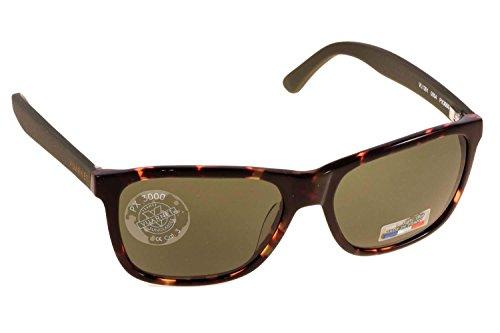 Vuarnet - Gafas de sol - Lamer completa - para hombre brown havana, chaki satin 0004 1121 58