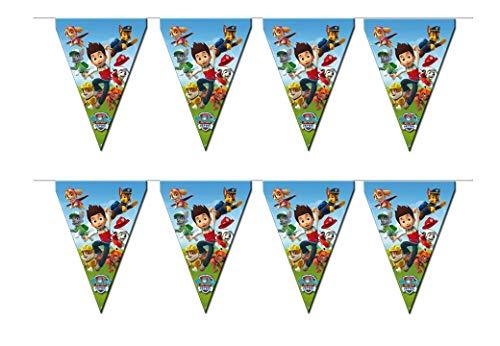 Patrulla Canina 0695, banderines, 1,5 Metros lineales
