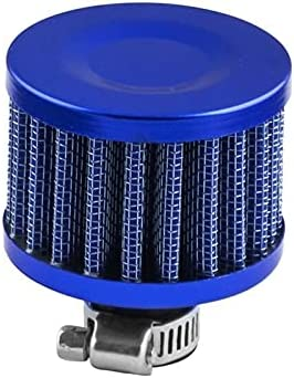 1PC Universal Interface Motorcycle Air Filters 12mm Sliver Car C