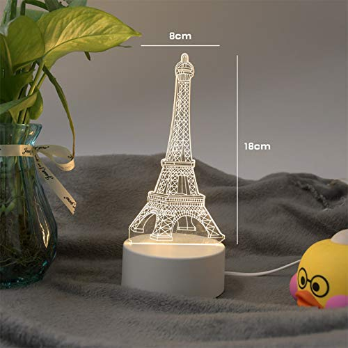 Lámpara LED 3D lámpara noche creativa nueva lámpara