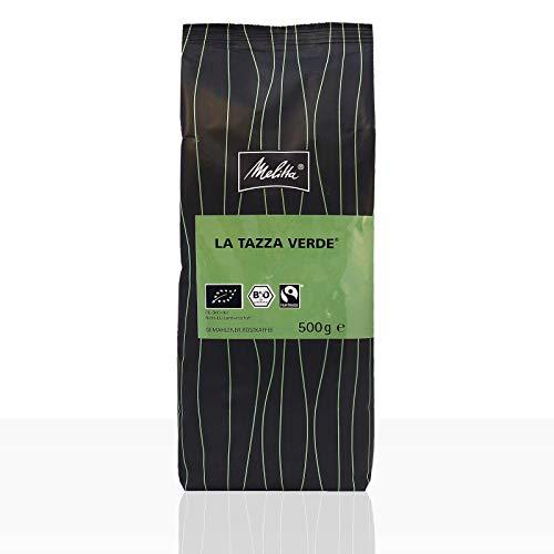 Melitta La Tazza Verde Bio Fairtrade - 12 x 500g Kaffee gemahlen, Filterkaffee