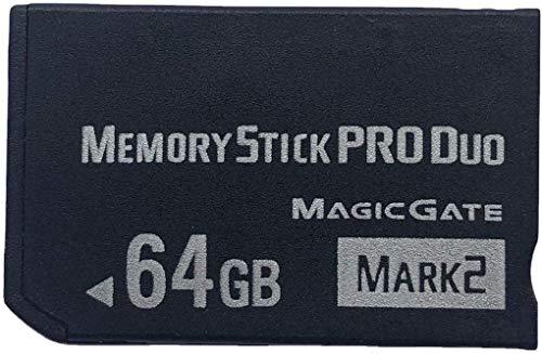 PSP Accesorios/Tarjeta de memoria original de 64 GB de alta velocidad Pro Duo (Mark2)