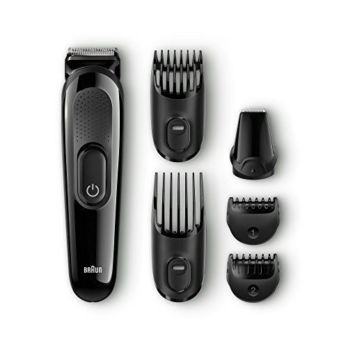 Braun MGK3025 Haartrimmer, Kunststoff, Schwarz