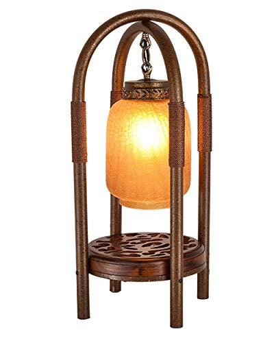 RXM nachtkastje lampen Retro Villa woonkamer slaapkamer solid studio informatie houten lampen decoratieve [energieklasse A ]