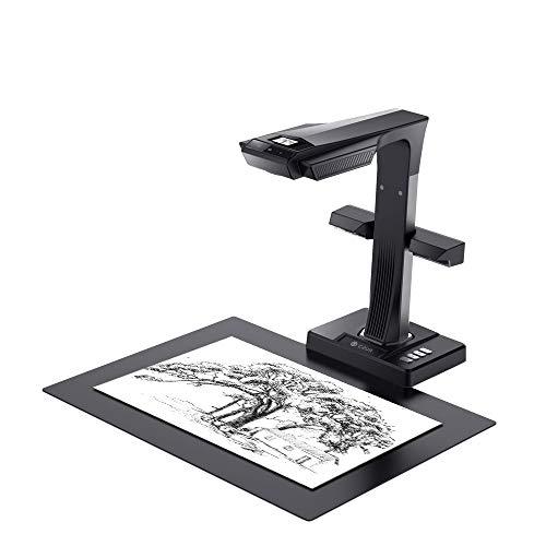 CZUR ET16-P Scanner Professionale per Libri, Scanner Inteligente per...
