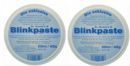Spar Set 2 Dosen BLINK-Paste mit je 200 ml Dr. Humm's umweltfreundliches Reinigungsmittel für Küche und Bad