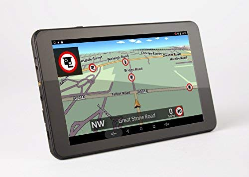 Aguri Car GT720 DVR sat nav with built-in dash cam with UK & Ireland mapping.