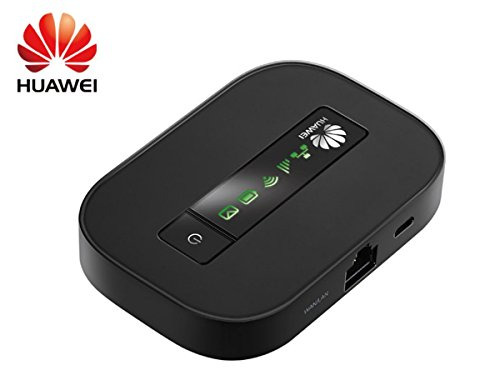 Huawei E5151 21 Mbps 3G Mobile WiFi Hotspot with Ethernet Port (3G in Europe, Asia, Middle East, Africa & T-Mobile USA)