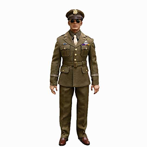 MXUS 1/6 Segunda Guerra Mundial U.S. Army Figura De Acción Uniforme Conjunto De Juguete Decorativa Mejores Regalos para Halloween, Navidad, Acción De Gracias, Cumpleaños