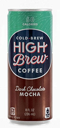 High Brew Coffee - Dark Chocolate Mocha - 8oz.(Pack of 20)