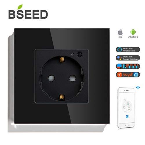 BSEED Eupope Estándar Tuya Smart Wifi Socket Soporte
